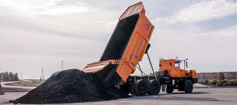 В Кузбассе представили углевоз Тонар-750114