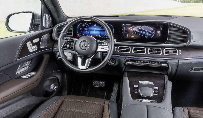 Новый Mercedes GLE получил новый двигатель