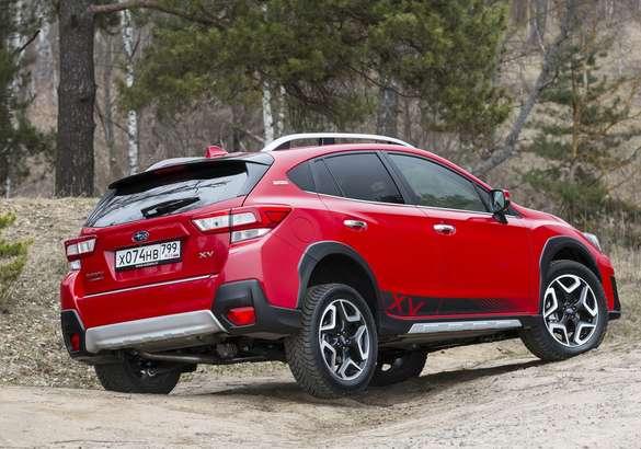 Subaru выпустила «токийскую» спецверсию кроссовера XV